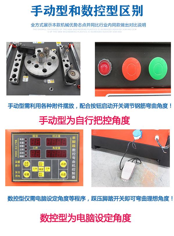 数控钢筋弯曲机